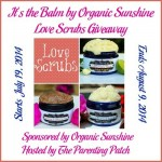 2014-07-19 It's the Balm by Organic Sunshine Love Scrubs Giveaway