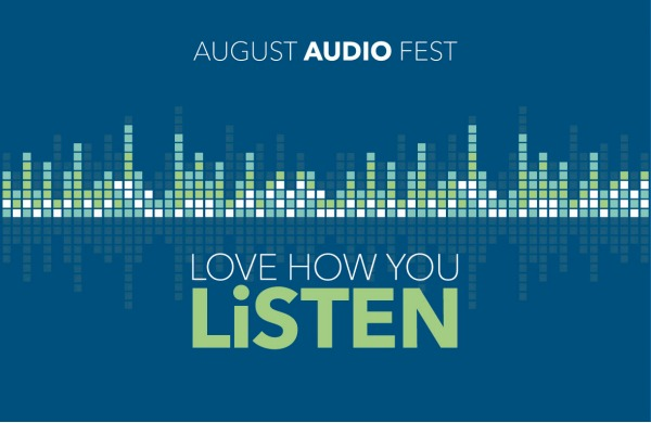 Aug audio fest campaign image