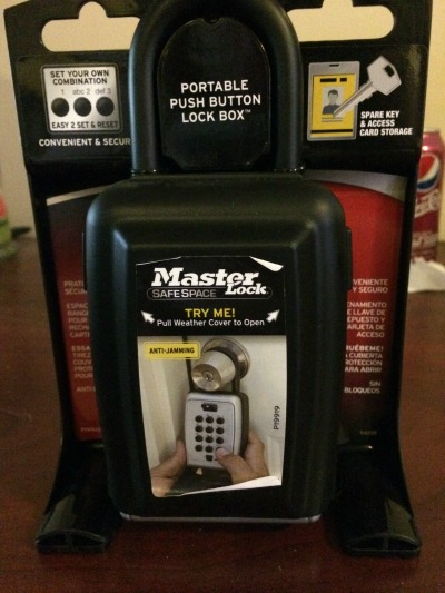 Masterlock Storage Security Key Safe 4