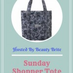 Sunday Shopper Tote event button