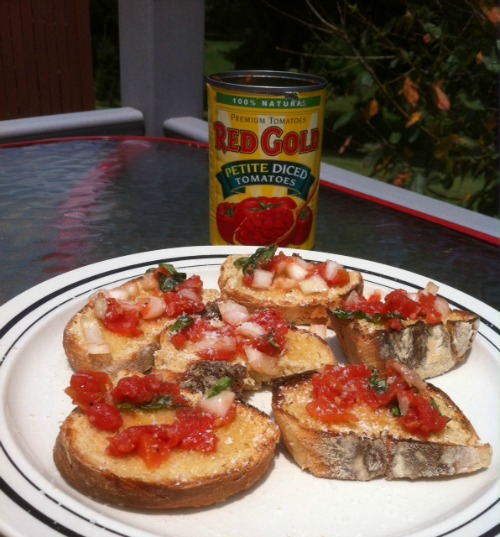 Red Gold's Summer Grilling Party: Easy Bruschetta Recipe