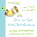2014-08-13 Reese and Luke Baby Balm Giveaway
