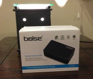 Bolse 7 Port USB Wall/Desktop Charger Review