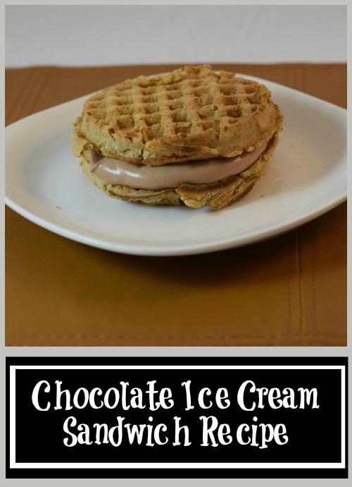 Chocolate Ice Cream Sandwich Recipe
