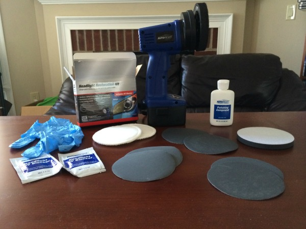 AutoRight Headlight Restoration Kit 1