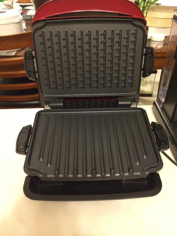 George Foreman Removable Plate Grill 1
