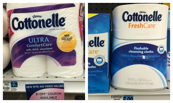 RiteAid Shelf Cottonelle