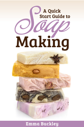 Book Cover - A Quick Start Guide to Soap Making by Emma Buckley - WEB