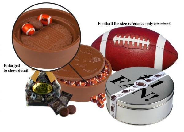 Football chocolate stadium