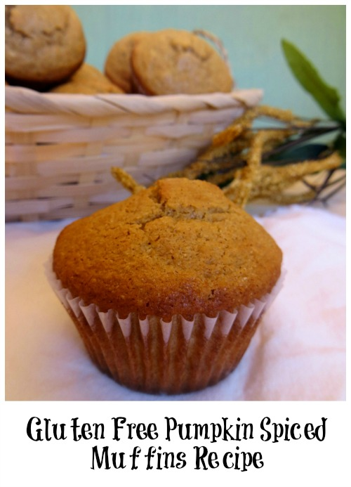Gluten Free Pumpkin Spiced Muffins Recipe feature