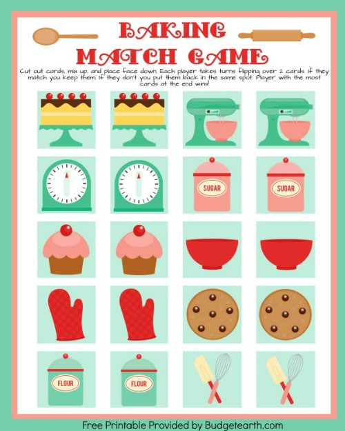 baking match game BE