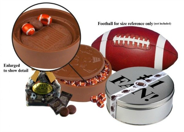 Football chocolate stadium