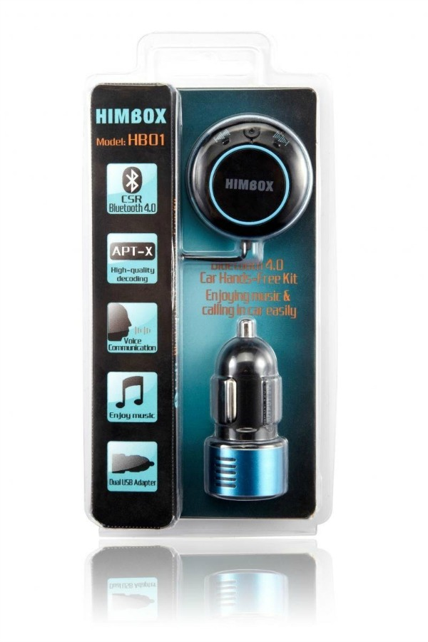 iClever Himbox HB01 Bluetooth 4.0 Hands-Free Car Kit 4