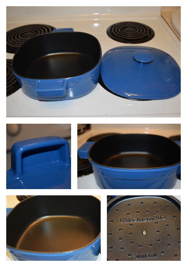 KitchenAid Streamline Cast Iron 3-Quart Casserole 2