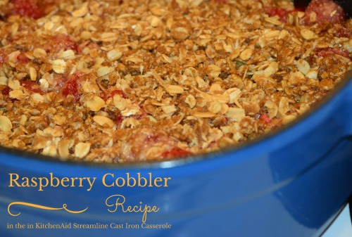 Raspberry Cobbler Recipe