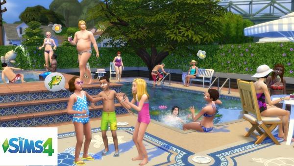 Sims 4 pool
