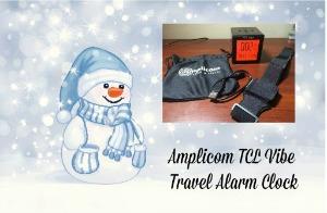 Amplicom TCL Vibe Travel Alarm Clock
