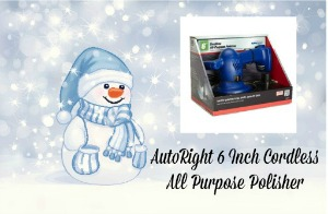 AutoRight 6 Inch Cordless All Purpose Polisher