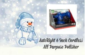 AutoRight 6 Inch Cordless All Purpose Polisher