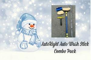 AutoRight Auto Wash Stick Combo Pack