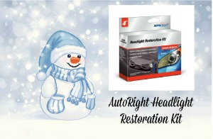 AutoRight Headlight Restoration Kit