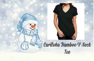 Cariloha Bamboo V-Neck Tee