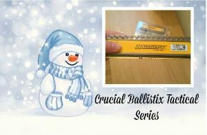 Crucial Ballistix Tactical Series