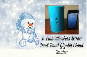 D-Link Wireless AC750 Dual Band Gigabit Cloud Router