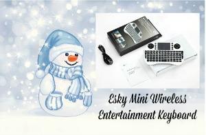 Esky Mini Wireless Entertainment Keyboard