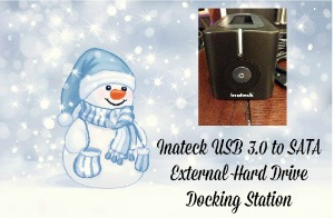 Inateck USB 3.0 to SATA External Hard Drive Docking Station