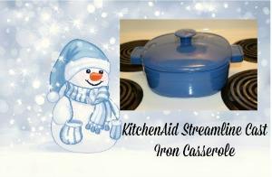 KitchenAid Streamline Cast Iron Casserole