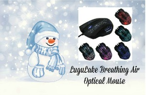 LuguLake Breathing Air Optical Mouse