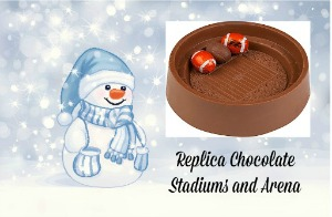 Replica Chocolate Stadiums and Arena