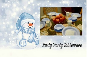 Susty Party Tableware