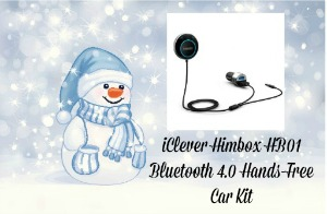 iClever Himbox HB01 Bluetooth 4.0 Hands-Free Car Kit