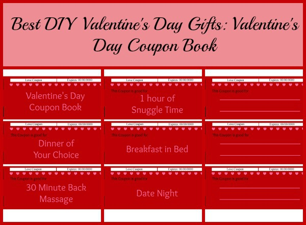 Best Diy Valentine'S Day Gifts: Valentine'S Day Coupon Book |
