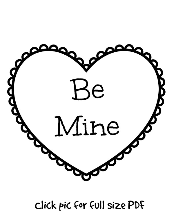 coloring-page-be-mine