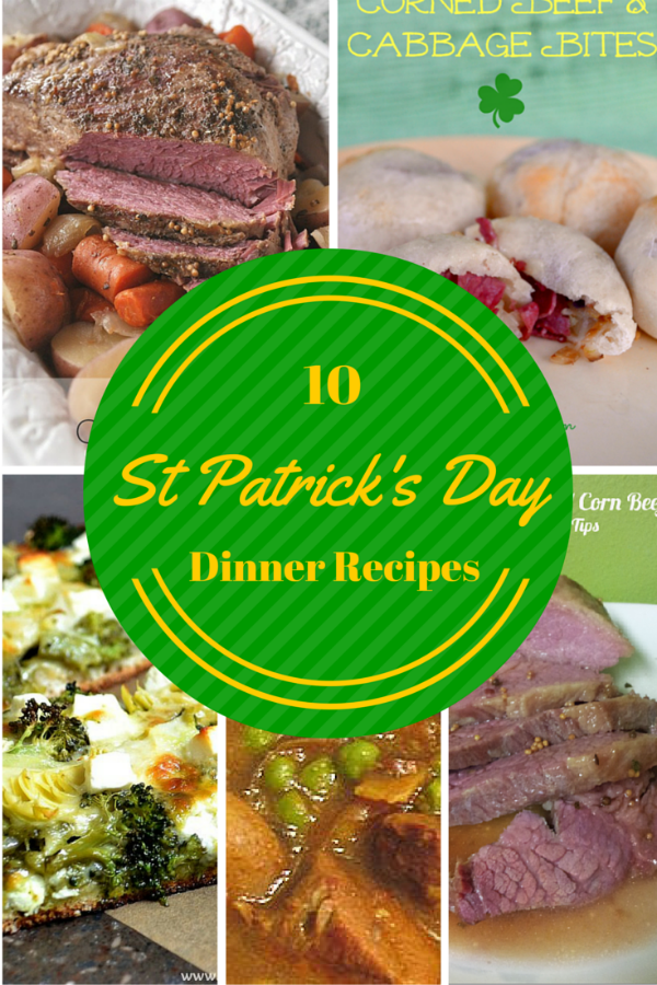 10 St Patrick dinner feature