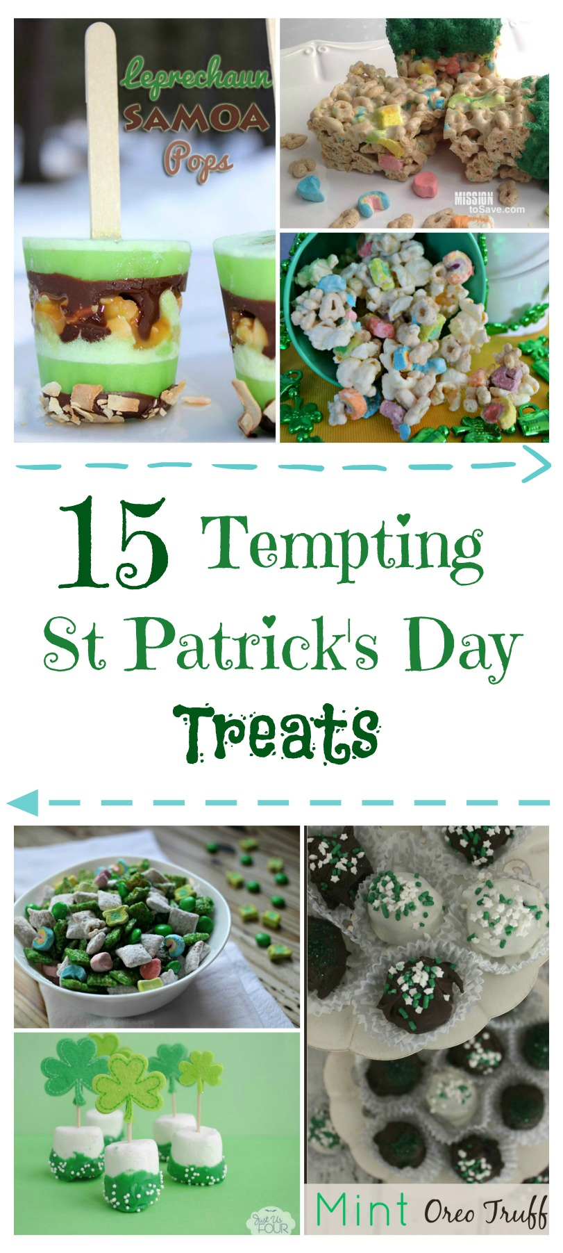 Looking for some yummy treats for a fun St. Patrick's Day party? Check out these 10 Tempting St Patrick's Day Treats here!