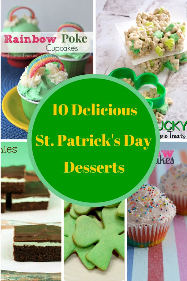 St Patrick Desserts feature