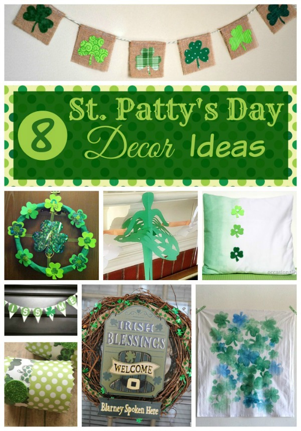 Looking for some adorable projects you can do with the kids? Check out these 8 St. Patty's Day Decor Ideas & Projects here!