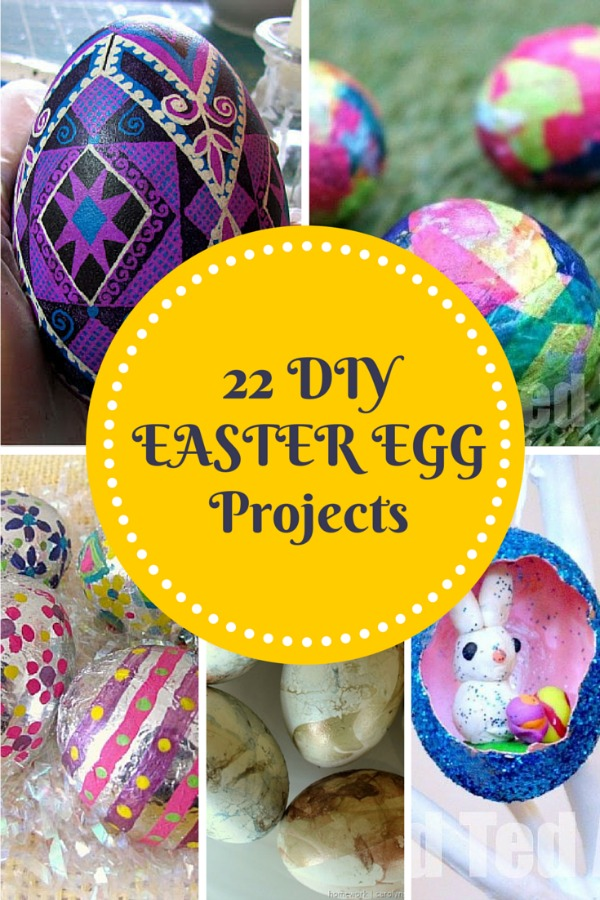 Looking for some cute and innovative ideas for this years Easter Eggs? Check out these 22 DIY Easter Egg Projects here!