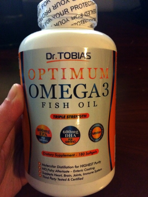Dr Tobias Omega-3 fish oil