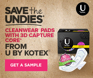U by Kotex Pads
