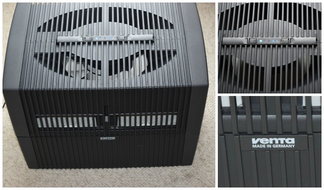 Ventar Airwasher detail