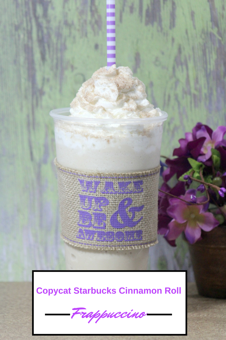 Looking for a delicious, summer recipe the whole family will love? Check out our Copycat Starbucks Cinnamon Roll Frappuccino Recipe here!