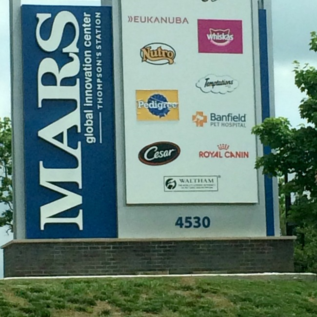 Mars Petcare Sign