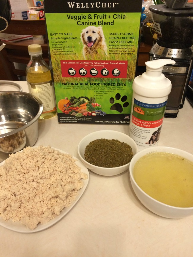 how to make your own dog food at home