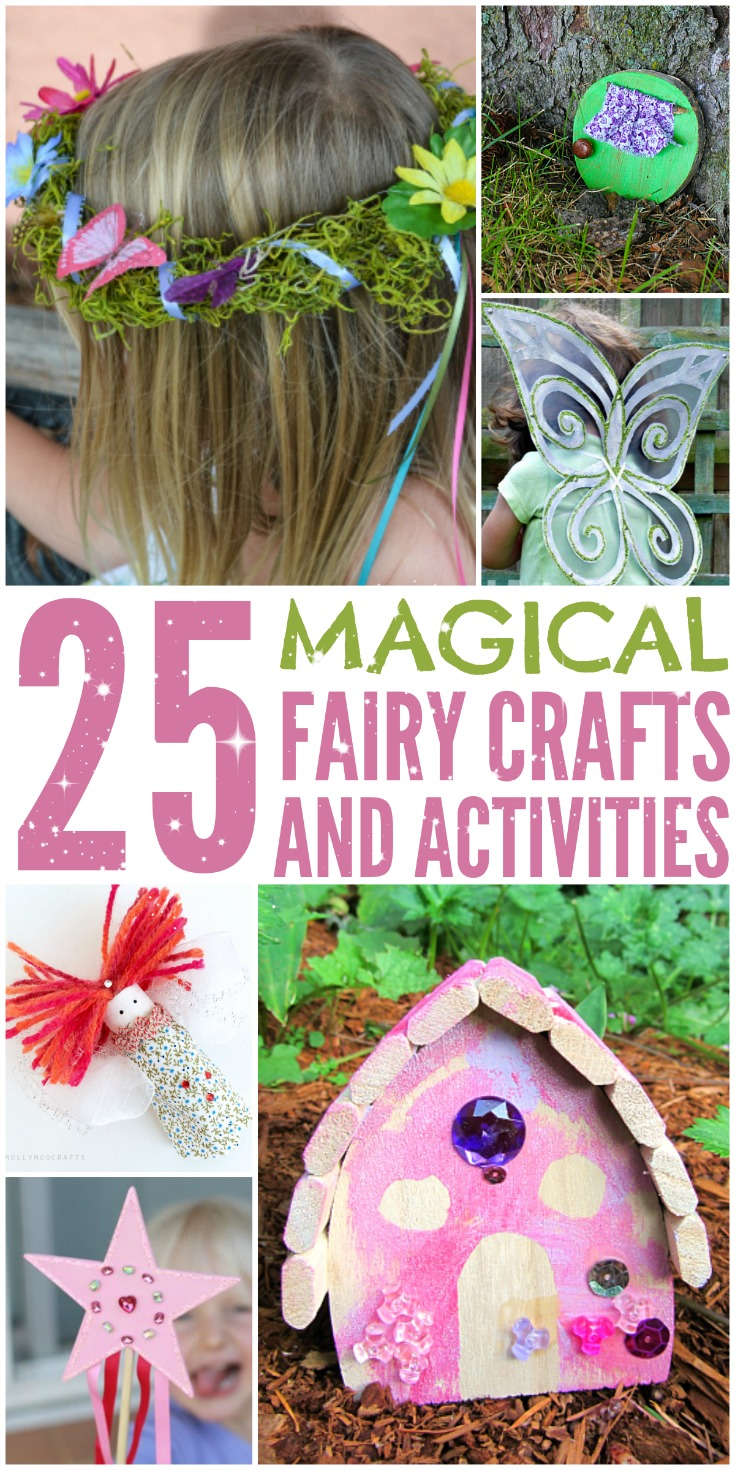 Looking for some adorable fairy themed craft projects you can make with the kids? Check out our favorite 25 Magical Fairy Crafts & Activities here!