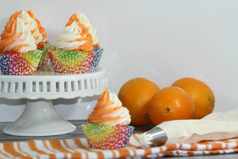 Looking for some fun, summer themed cupcakes? Check out our Creamsicle Cupcake Recipe here!
